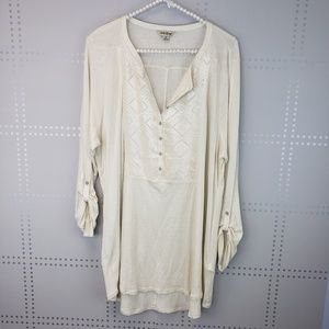 Lucky Brand | Cream Henley
